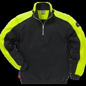 Fristads - Sweatshirt kort dragk
