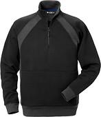 Fristads - Sweatshirt kort zip
