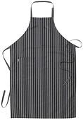 Segers - Förkläde randigt m bröstlapp