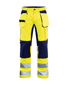 Blåkläder - Hi vis Stretch trouser klass2