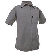 Blåkläder - Canvasskjorta kort ärm dam