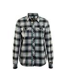 Blåkläder - Flanellskjorta dam