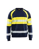 Blåkläder - Flame Hivis Sweatshirt